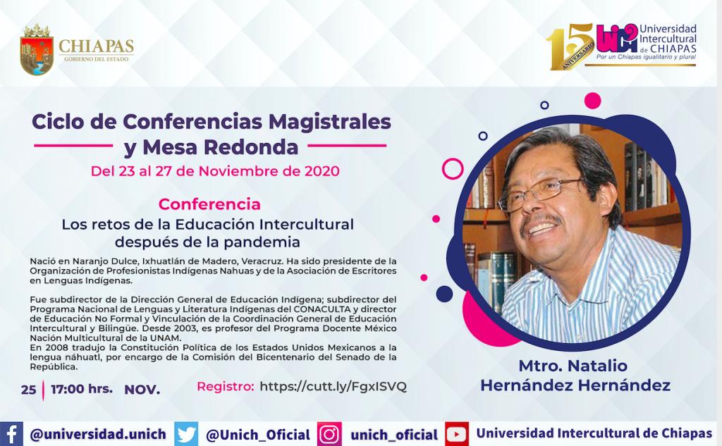 Eventos Natalio Hernández
